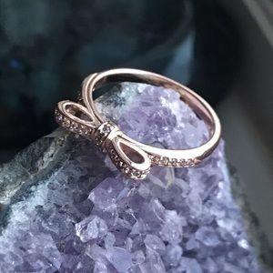 Pandora Jewelry - Pandora Sparkling Bow Ring